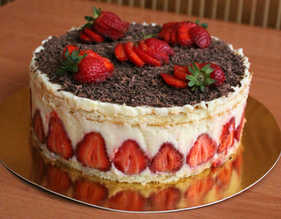 Святковий торт рецепт фото